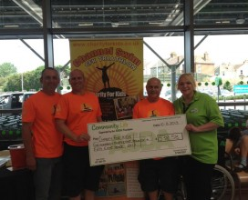 Asda Hastings donation