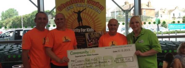 Asda Hastings donation