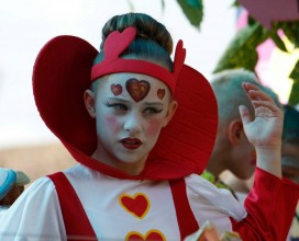 Bexhill carnival 2014 - Queen of hearts