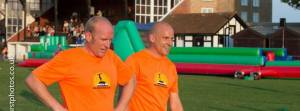 Brothers Paul and Tony - Its a Knock out 2014