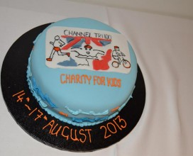 Channel Swim Cake 2013