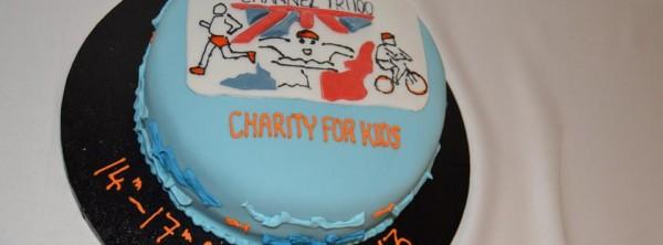 Channel Swim Cake 2013
