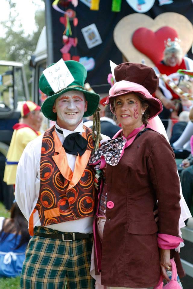 Mr & Mrs Nesbit - Bexhill Carnival 2014