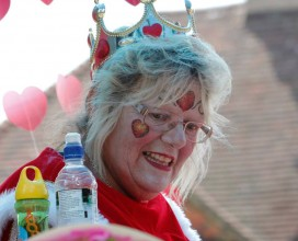 Our Treasurer - Patsy Bexhill carnival 2014