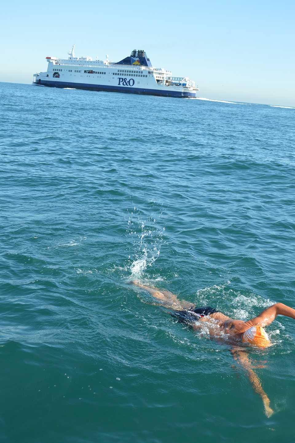 Swimming-in-the-shipping-lane