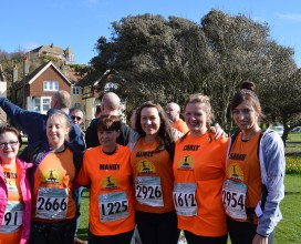 The-girls---Hastings-half-marathon-2014