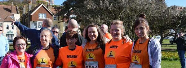 The-girls---Hastings-half-marathon-2014