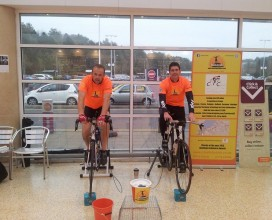 Twin Town Cycle training 2014