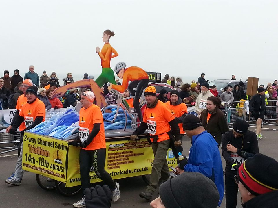 Charity for Kids Float Hastings Marathon 2013